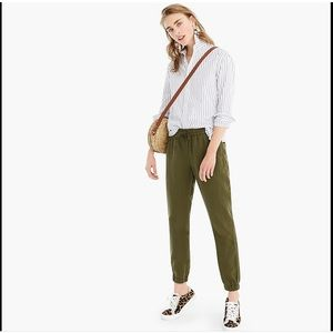 J.Crew Tall Point Sur Seaside Pant In Linen TENCEL